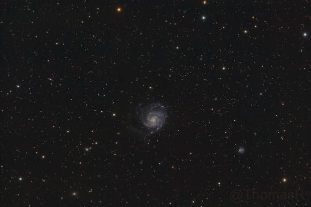 M101 - The Pinwheel Galaxy,                                ThomasR