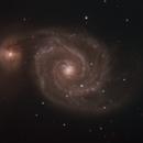 M51 Whirlpool Galaxy-RGB-image by Liverpool Telescope,                                Adel Kildeev