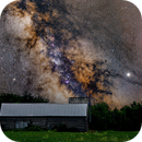 The Milky Way over a Beckwith Township Barn,                                Doug Griffith