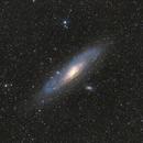 M 31 Andromeda-galaxy,                                Nagy Berta László