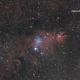 69 Hesperia Asteroid near the Christmas Tree Cluster (animation),                                Orestis Pavlou