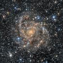 IC 342 - The Hidden Galaxy (HaLRGB),                                Frank Breslawski