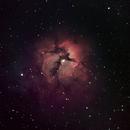 M20 Trifid Nebula,                                Brett Creider