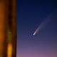 Comet C/2020 F3 NEOWISE reflection,                                Emiel Kempen