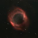 The Helix Neubla NGC7293 in Ha and Oiii,                                Craig Shine
