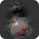 The Orion Nebula,                                Lucas Maguire