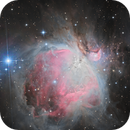 M42 in LRGB high definition,                                Vincent F