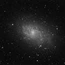 M33 - first ASI camera test,                                Tomasz Slomczynski