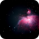 First Light M42,                                astrobrad