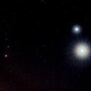 Venüs, Jüpiter ve Mars,                                Uğur İkizler