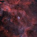 NGC6888 widefield HOO,                                Sergiy_Vakulenko