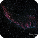 Eastern Veil Nebula,                                rhombus