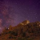 Milky Way from Mora's Castle,                                eldoctorbacterio