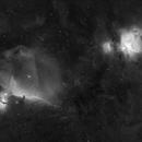 Orion in HA mit 200 mm Brennweite,                                alphaastro (Rüdiger)