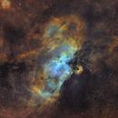 M16, the Eagle Nebula,                                Nicolas Kizilian