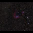 Flaming Star Nebula IC 405 & Co, even wider field,                                Göran Nilsson