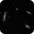 The Leo Trio -  M65, M66, and NGC 3628.,                                AstroAdventures