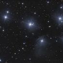 M45 - Les Pleiades - 16 et 19 octobre 2017,                                dsoulasphotographie