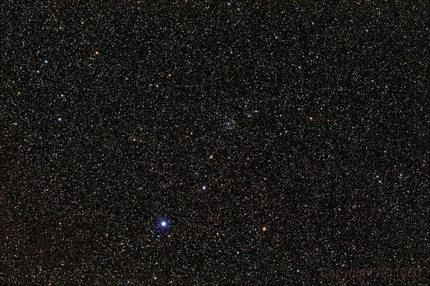 NGC 6811 - wide field,                                AC1000