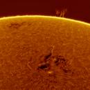 2021.10.25 Sun H-Alpha,                                Kyu Seob KIM