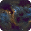 Soul Nebula Narrowband,                                David MaKieve