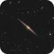 NGC 4565, The Needle Galaxy,                                Mason Steidle