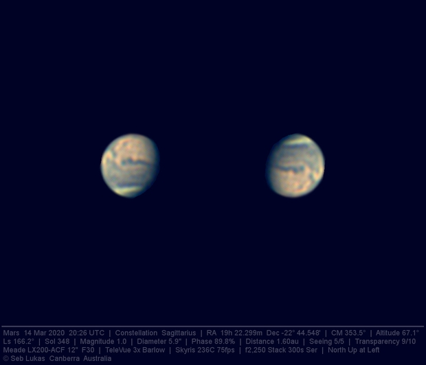 Mars 14 Mar 2020 - 5 min stack,                                Seb Lukas