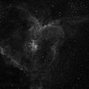 Ic 1805 test photo in ha 3x300s,                                Marek Smiatacz