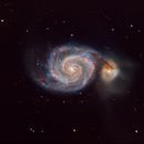M51 Whirlpool galaxy,                                jeffreycymmer