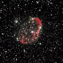 NGC6888: The Crescent Nebula,                                Daniel Tackley
