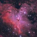 M16 • Eagle nubula • Pillar of creation,                                Mikael De Ketelaere