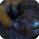 IC4603/4604 and a portion of the Rho Ophiuchi Cloud Complex in LRGB,                                Patrick Cosgrove