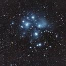 M45, The Pleiades, Sony A6300, William Optics ZS61,                                feynman