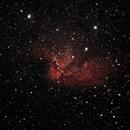 NGC 7380 - Wizard Nebula,                                Dennis Ruzeski