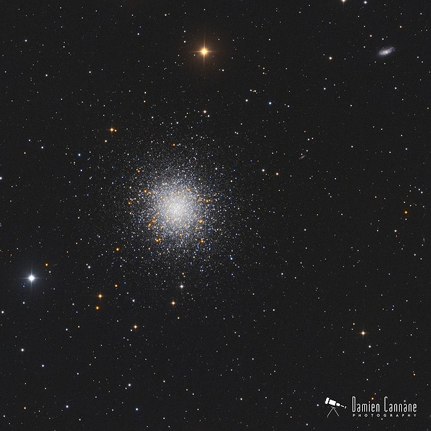 The Great Cluster in Hercules,                                Damien Cannane
