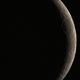 Moon 18.04. Skywatcher 72ED,                                Spacecadet