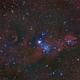 NGC2264 Christmas tree cluster widefield,                                Jens Zippel