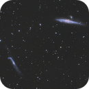 The Whale and the Hockey Stick NGC4631 and NGC4656,                                CCDMike