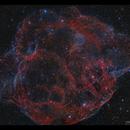 The Spagetti Nebula (Simeis 147) HaOiii,                                Göran Nilsson