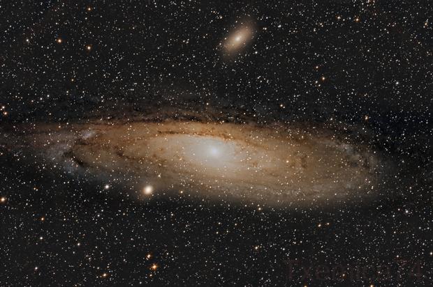 M31 Andromeda Galaxy,                                Txema Asensio