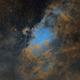 M16 Eagle nebula SHO,                                Fernando Huet