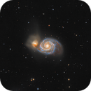 Whirlpool Galaxy M 51,                                Luca Fornaciari