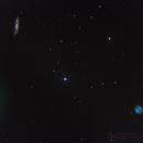 Comet 41P+M97+M108+hundreds of stars! ,                                Gianluca Belgrado