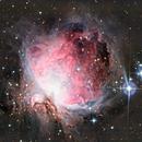 The great Orion Nebula & Running Man Nebula,                                Julian Mochayedi