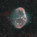 NGC 6888 Crescent Nebula HOO,                                Benoit Gagnon