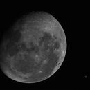 Mars meets the Moon,                                Roberto Colombari