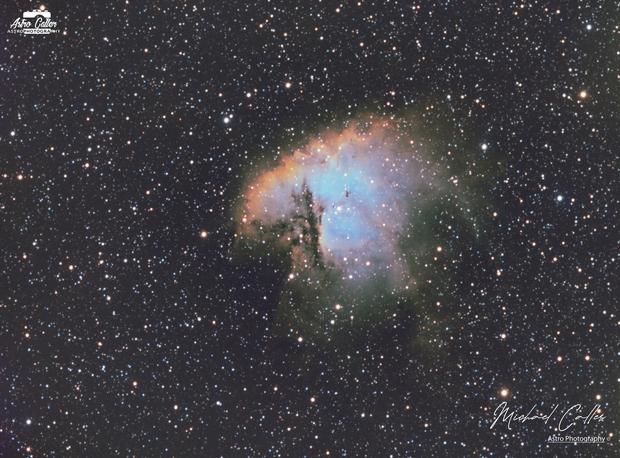 NGC 281 Pacman Nebula SHO,                                Michael Caller
