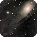 M31 Andromeda galaxy old data with C6 / Canon 600D mod + Celestron C6 XLT SC / SW EQ-M35 / 800ISO,                                patrick cartou