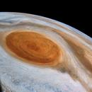Jupiter on NASA Juno Perijove 27,                                sergio.diaz