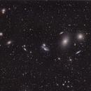 Markarian's Chain - Virgo Cluster,                                Frank